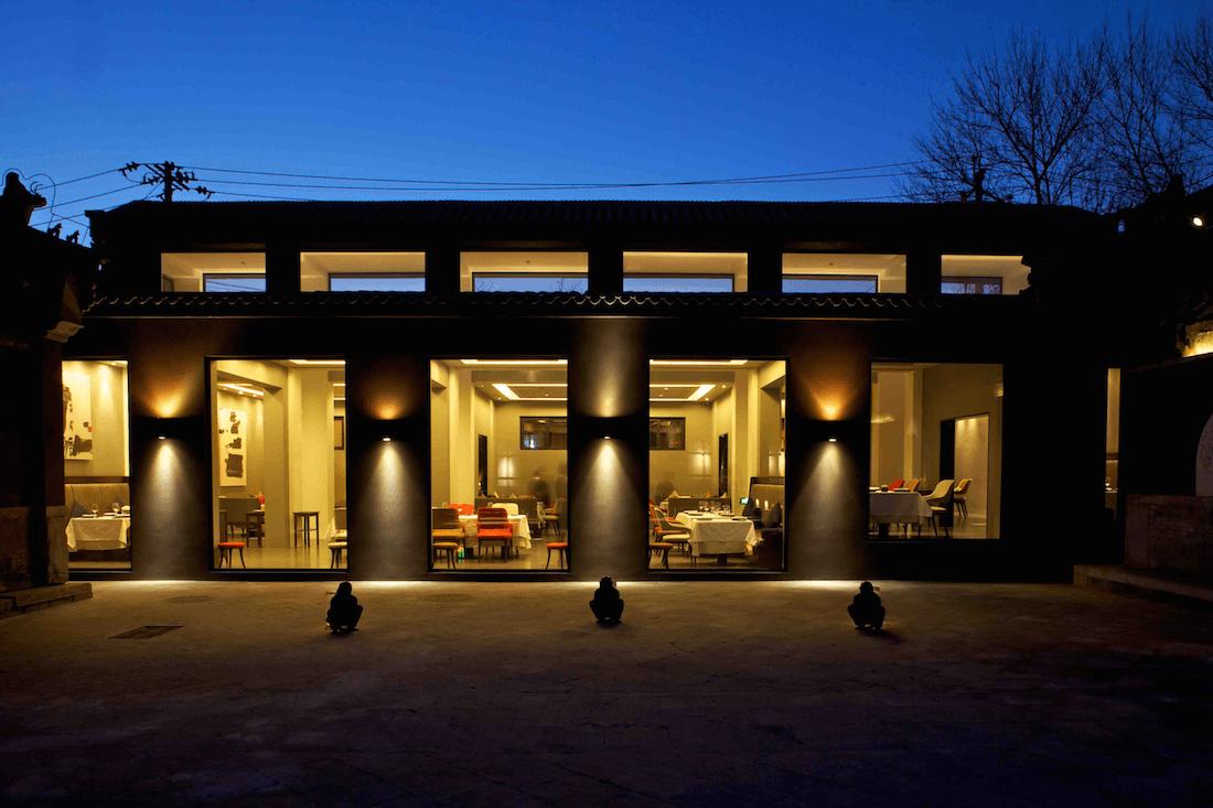 Fine dining restaurant exterior - Seraser Exterior Seraser Fine Dining Restaurant